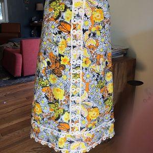 Vtg. Lilly Pulitzer Floor Length Skirt